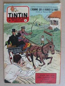 journal Tintin hebdomadaire - 10e année n° 17 - 1955 - Reding