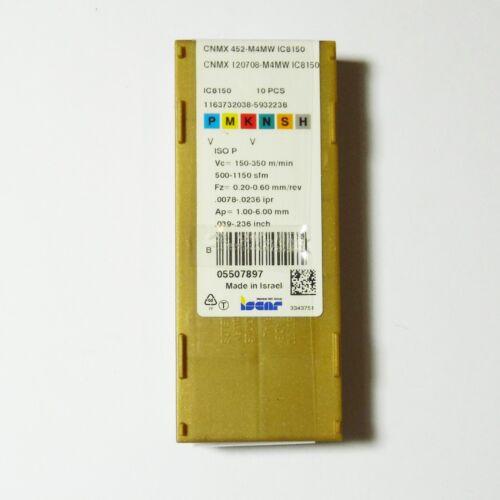 APKT SPMT WNMG 10 Stück ISCAR Wendeschneidplatten VNMG SNMU CNMG