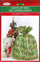 Christmas House Giant Gift Presents Bag W Tag 36 X 44 Balls (qty 1)