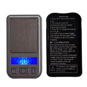 200G-0-01G-Digital-Mini-Tasche-Waage-Schmuck-Waage-Feinwaage-Praezisionswaage-GY
