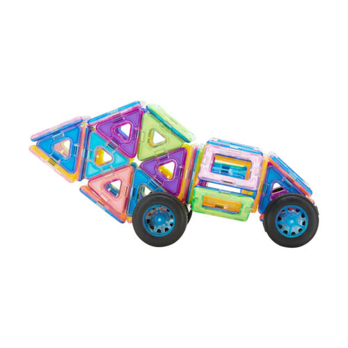 Details about  /Magnetic Tiles Vehicle Xmas Gift for Girl/'s and Boy/'s Toy Fun Playset