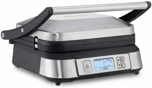 Cuisinart GR-6S Contact Grill Griddler with Smoke-less Mode