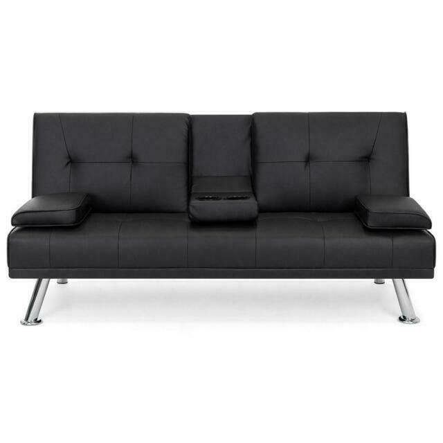 Best Choice Products SKY2878 Futon Sofa Bed - Black