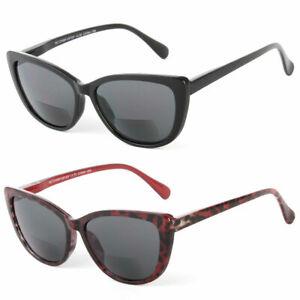 Women-Cateye-Fashion-Bifocal-Reading-Sunglasses-Sun-Readers-Uv-400-Protect