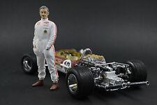 Graham Hill Figure for 1:18  LOTUS  Quartzo Very RAR !