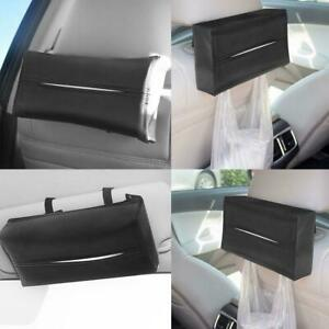 Leather-Durable-Standard-Tissue-Box-Holder-For-Car-Rectangular-SALE-Office-O1A3