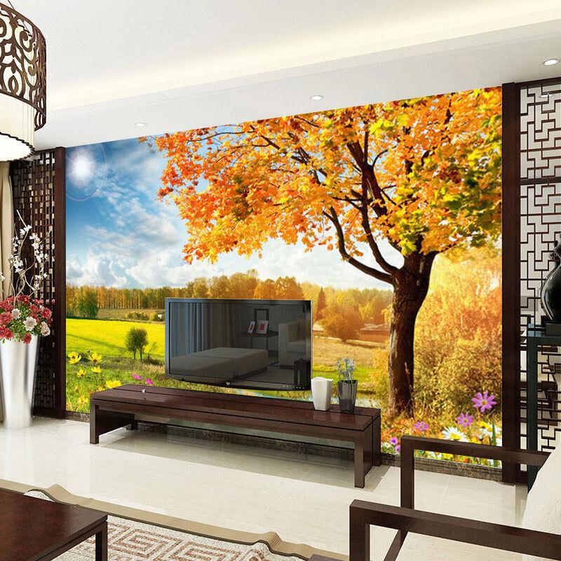 3D Blumen Und Baum 83 Tapete Wandgemälde Tapete Tapeten Bild Familie DE