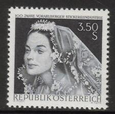 AUSTRIA MNH 1968 SG1520 CENTENARY OF VORARLBERG LACE