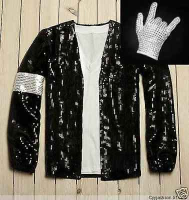Michael Jackson Billie Jean MJ Costume Accessories MJ Jacket/Pant/Glove/Socks