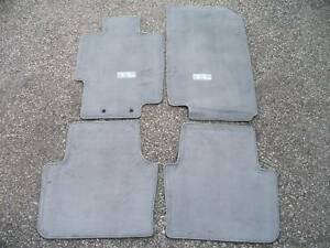 Genuine OEM Acura TL Moon Lake Gray Carpet Floor Mats EBay - 2006 acura tl floor mats