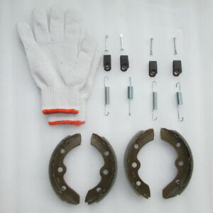 CLUB CAR GOLF CART BRAKE SHOES + SPRING KITS,1995-up DS & PRECEDENT,GAS/ELECTRIC