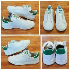 7450975cb60a00 Adidas Originals Men Stan Smith OG PrimeKnit Sneakers White Green S75146
