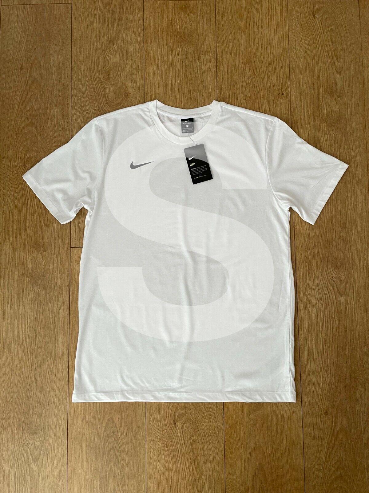 Nike Dri-Fit T-Shirt White Small Brand New