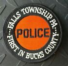 OLD FALLS TOWNSHIP PENNSYLVANIA POLICE FIRST IN BUCKS COUNTY PATCH UNUSED