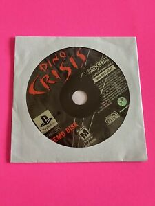 🔥 SONY PS1 PlayStation One PSX 💯 WORKING GAME DISC ONLY *DEMO* DINO CRISIS