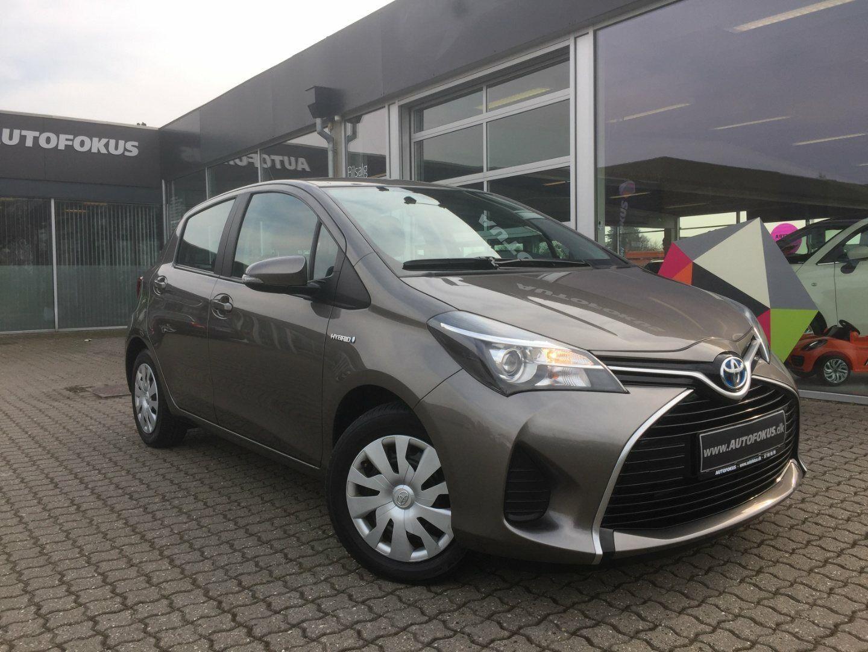 Toyota Yaris 1,5 Hybrid H2 CVT 5d - 129.780 kr.