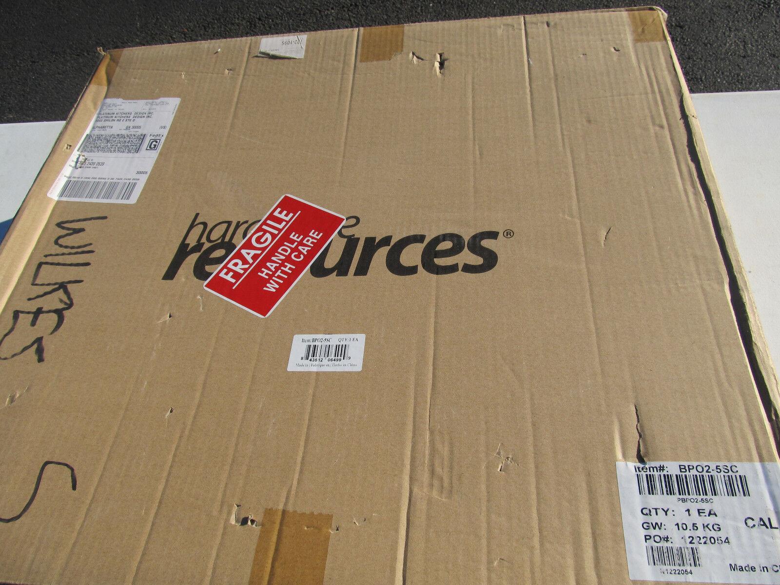 Ressources matérielles BPO2-5SC Base 9 in (environ 22.86 cm) Cabinet Tirez à étagères avec des
