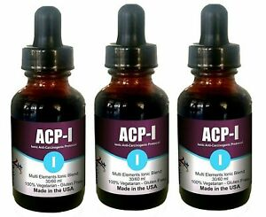 ACP-I Nano Ionic Multi Minerals and Vitamins Supplement for all ages(1, 60 ml)
