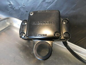 1980 honda cx500 working fuse box cover top bar clamp excellentimage is loading 1980 honda cx500 working fuse box cover top