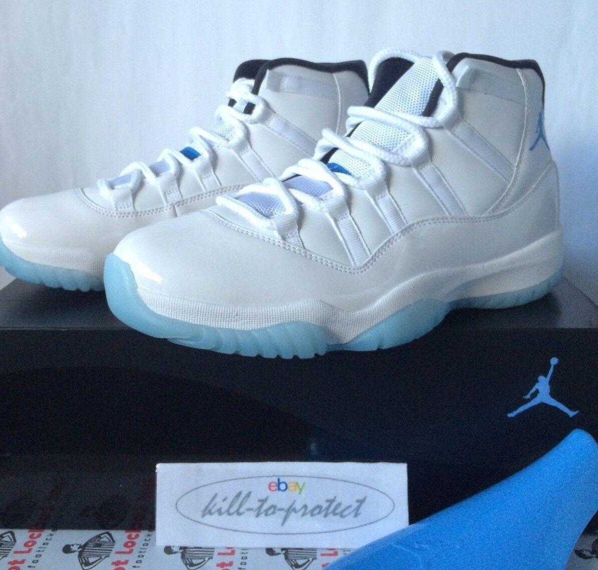 Nike Air Jordan 11 Kids Columbia nos  Gs Kids 11 Leyenda Azul 378037117 6994ba
