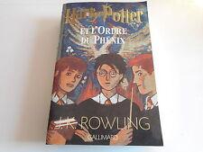 HARRY POTTER ET L'ORDRE DU PHENIX - J.K.ROWLING - GALLIMARD 975 PAGES