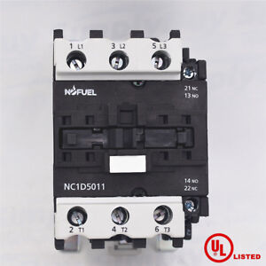 Magnetic contactor LC1D5011F7 direct replacement for Schneider LC1D5011 120V
