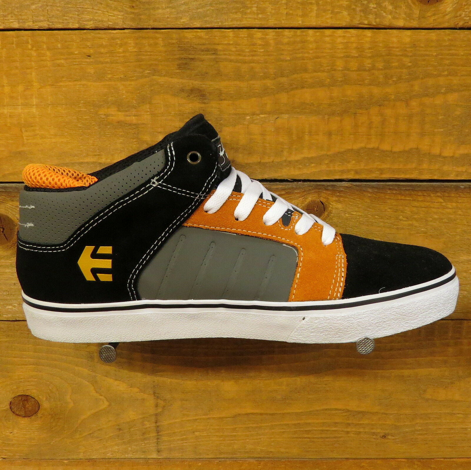 ETNIES Sheckler 5 Herren Skateschuhe Sneaker black/grey/orange 4102000086577