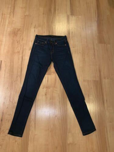 J Brand Womens Skinny Straight Legged Jeans Dark W