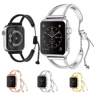 Stainless Steel Bracelet Strap Band For Apple Watch Series 5 4 3 38 42mm 40 44mm Ebay