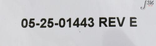 18453 OEM CABLE ASSY INTERLOCK UPPER 05-25-01443 NEW ILLUM