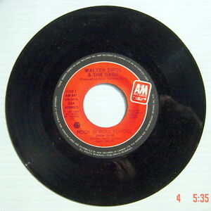 ONE-1981-039-s-45-R-P-M-RECORD-WALTER-ZWOL-amp-THE-RAGE-BRAND-NEW-CAR-ROCK-N-039-R