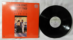 "ELVIN JONES & McCOY TYNER ""Quintet Reunited"" (Black-Hawk/PROMO) Jazz EX/N/MINT!!"