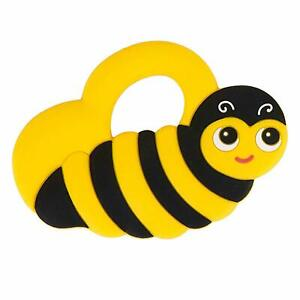 Silli-Chews-Baby-Teethers-Natural-Silicone-Teething-Toys-Yellow-Bee-Gum-1