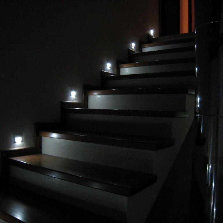 Onyx Lunex DEL Escalier Lumière Lampe Mur Lampe Lumière Corridor Lightning encastré lumière 43b883
