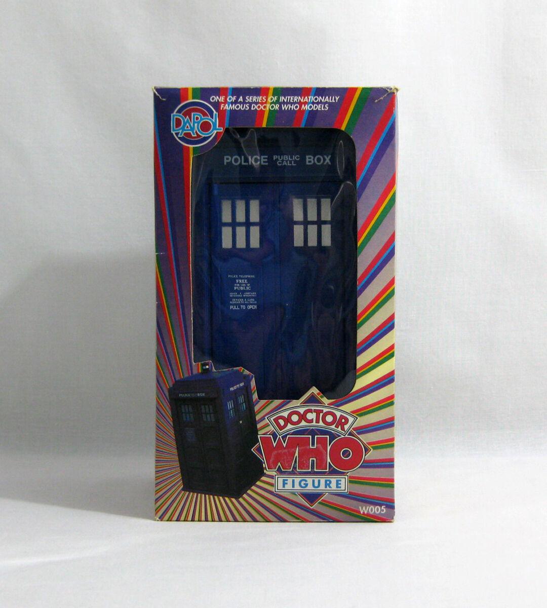Nuevo 1987 Doctor Who ✧ Tardis ✧ Dapol raro arco iris Caja Mib