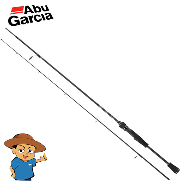 Abu Garcia BASS FIELD BSFS-622UL Ultra Light 6'2  bass fishing spinning rod pole