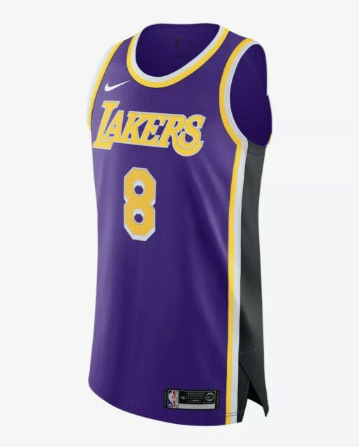 Nike Authentic Jersey Kobe Bryant 8 Los Angeles Lakers Statement ...