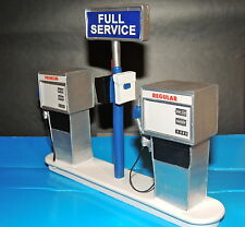 Service Station Gas Pump (Ready to Display)1:18/1:20 Scale FREE GASOLINE DECALS!