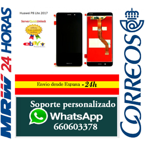 Pantalla-Completa-para-Huawei-P8-Lite-2017-PRA-LX1-Negra-Tactil-Lcd-Negro