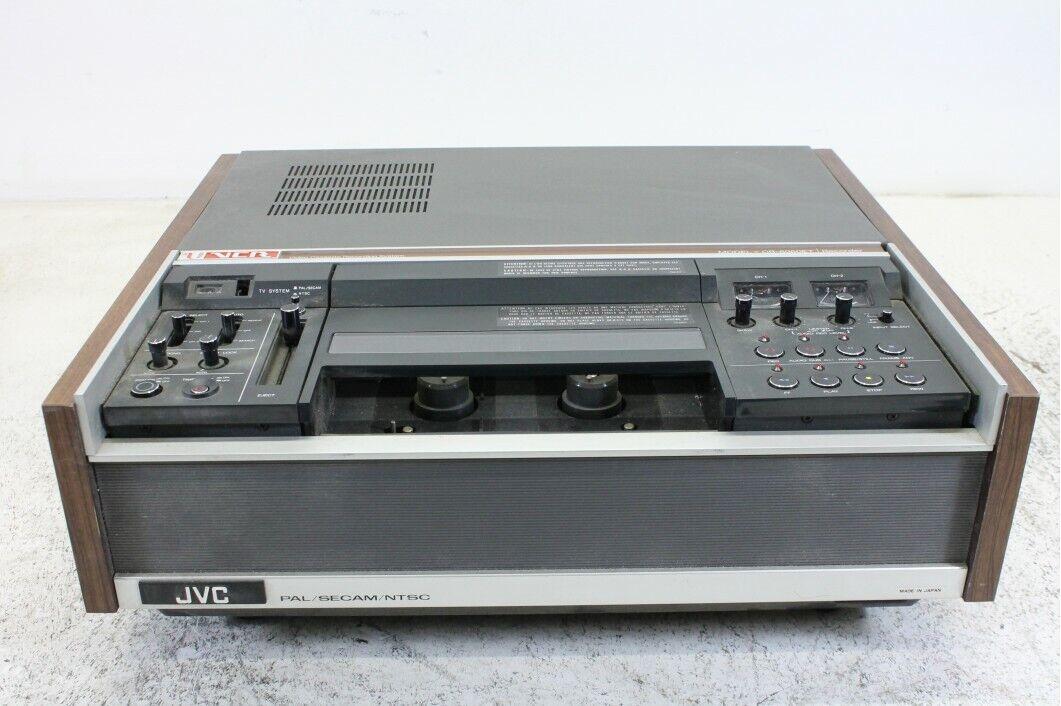 JVC CR-6060ET VCR Videocassette Recorder - Pal Secam NTSC
