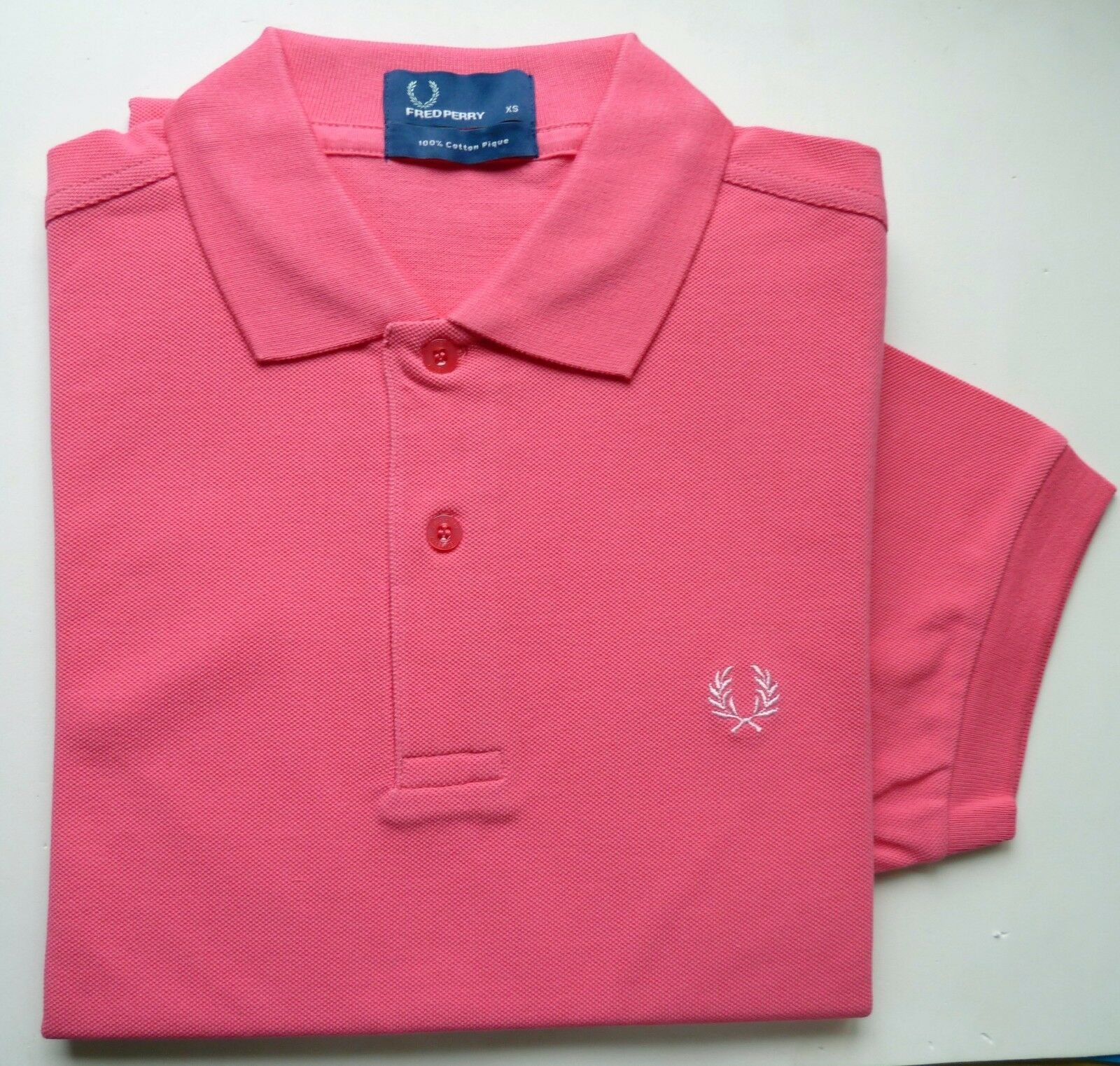 Polo Frouge Perry original Taille XS Couleur rose