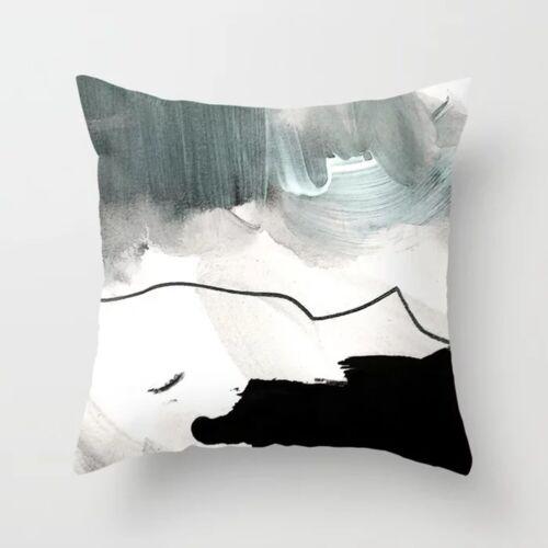 "18/"" Geometric Abstract Pillow Case Sofa Car Waist Throw Cushion Cover Home Decor"
