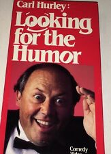 Carl Hurley: Looking For The Humor (VHS 1992) Stand Up Comedian / Comedy Video