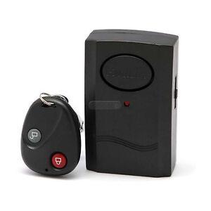 alarme antivol d tecteur vibration pour moto porte fen tre ebay. Black Bedroom Furniture Sets. Home Design Ideas