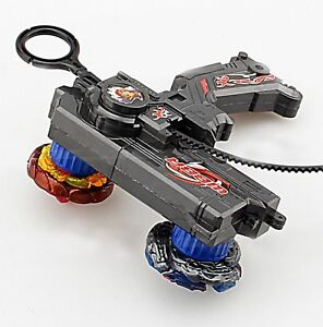 Kids-Beyblade-Duotron-Master-Launcher-For-Double-Bey-Metal-Spinning-Top-Game-New