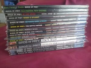 Mega Birds of Prey Lot Near Complete 1999 - 2011 Includes Dixon, Simone, New 52