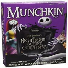 Munchkin Nightmare Before Christmas Card Game Toy Game Kids Play Gift Board Tra
