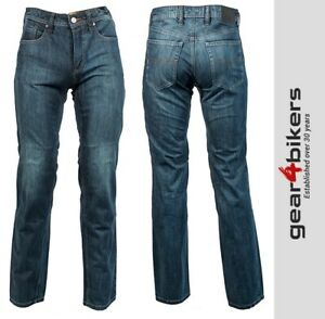 Richa Hammer 2 CE Aramid Lined Armoured Jean Blue Motorcycle Pant Pants Jeans