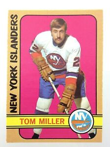 1972-73-Tom-Miller-New-York-Islanders-32-OPC-O-Pee-Chee-Hockey-Card-N949