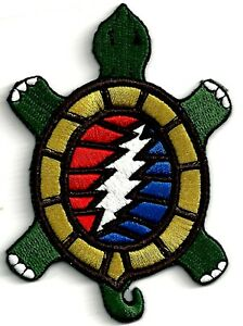 GRATEFUL-DEAD-STEAL-YOUR-FACE-TURTLE-IRON-ON-or-SEW-ON-PATCH